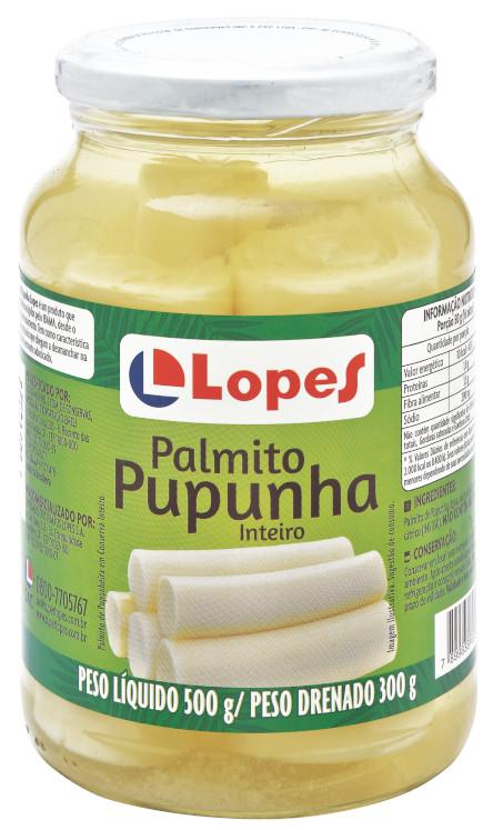 LOPES PUPUNHA INTEIRO 15x300g
