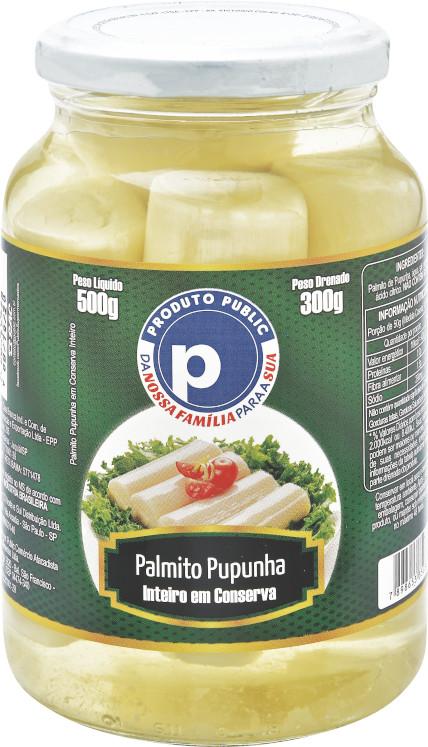 PUBLIC PUPUNHA INTEIRO 15X300g