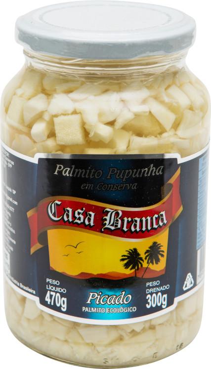 CASA BRANCA PUPUNHA PICADO 15X300g