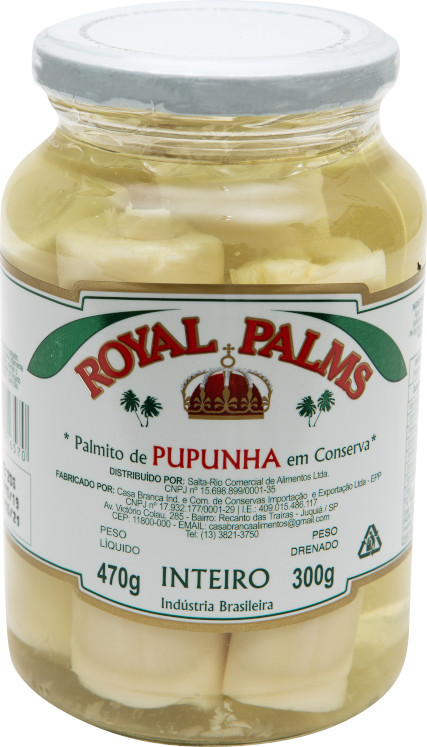 ROYAL PALMS PUPUNHA INTEIRO 15X300g